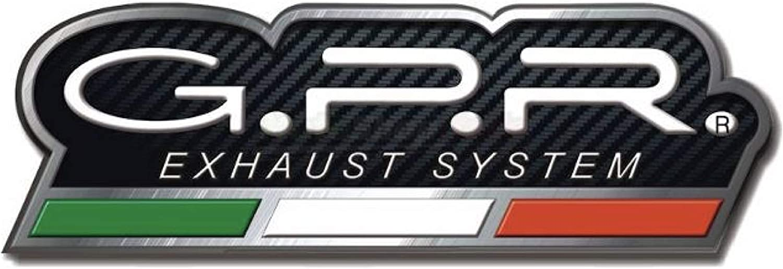 GPR BMW.58.FUNE TUBO DE ESCAPE HOMOLOGADO FURORE NEGRO COMPATIBLE CON BMW G 650 GS SERTAO 2010 10 2011 11 2012 12 2013 13 2014 14 2015 15 2016 16
