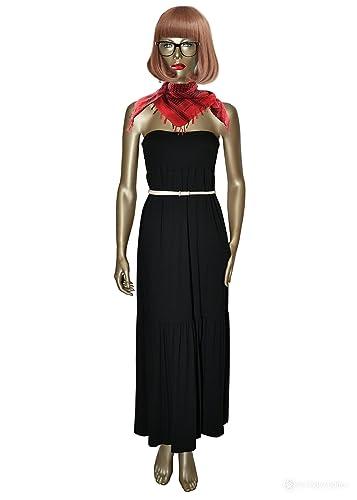 TWIN SET SIMONA BARBIERI vestito lungo con cinturino removibile (XS)