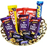 Sfu E Com Chocolate Gift Basket - 12 Pcs