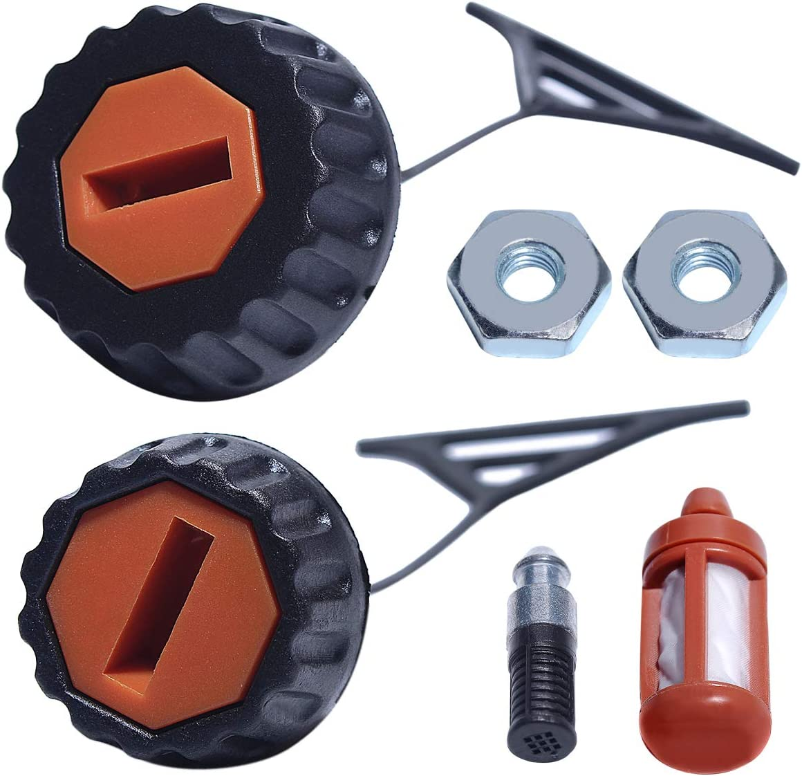 Fits 029 /& 039 Chainsaws STIHL Fuel /& Oil Cap