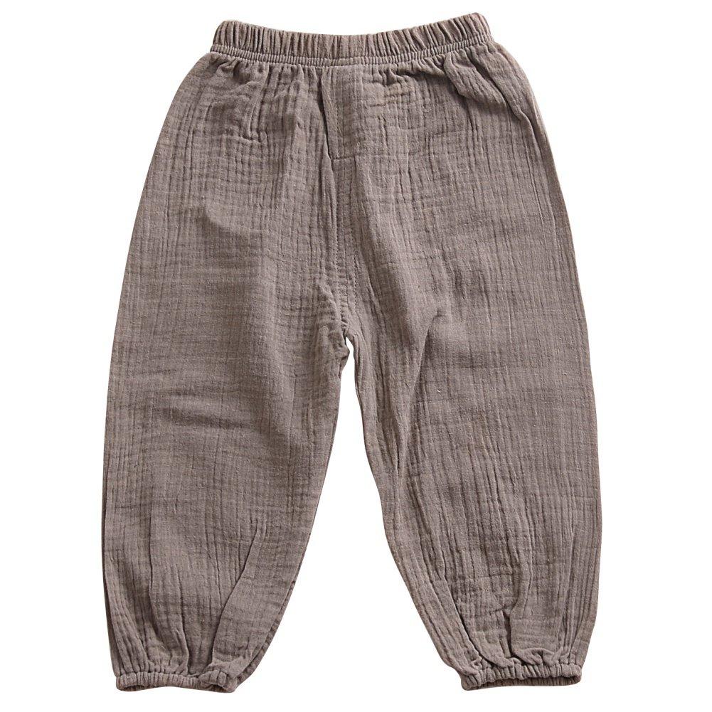 Brightup 1-5 anni bambino bambini pantaloni, ragazzo ragazza primavera estate bottom pantaloni casual harem pantaloni