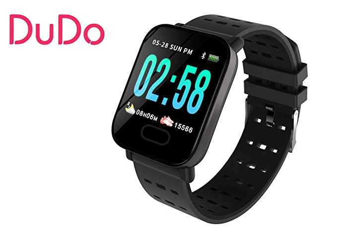 Amazon.com: New Smart Watch Men Women DUDO A6 Heart Rate ...