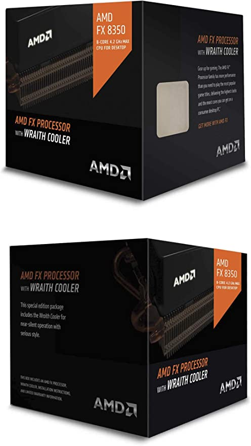 AMD FX 8350 - Procesador (AMD FX, 4 GHz, Socket AM3+, PC, FX-8350 ...