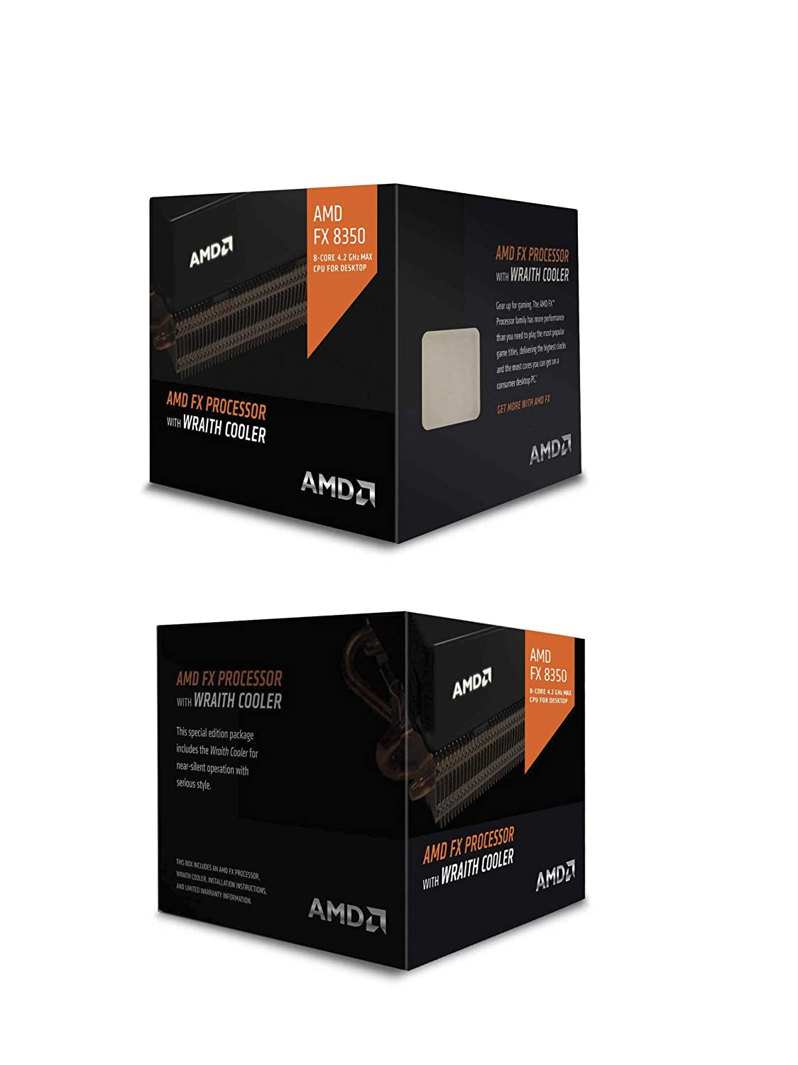 AMD CPU FD8350FRHKHBX FX-8350 8Core AM3 16MB 4200MHz 125W with Wraith Cooler Retail
