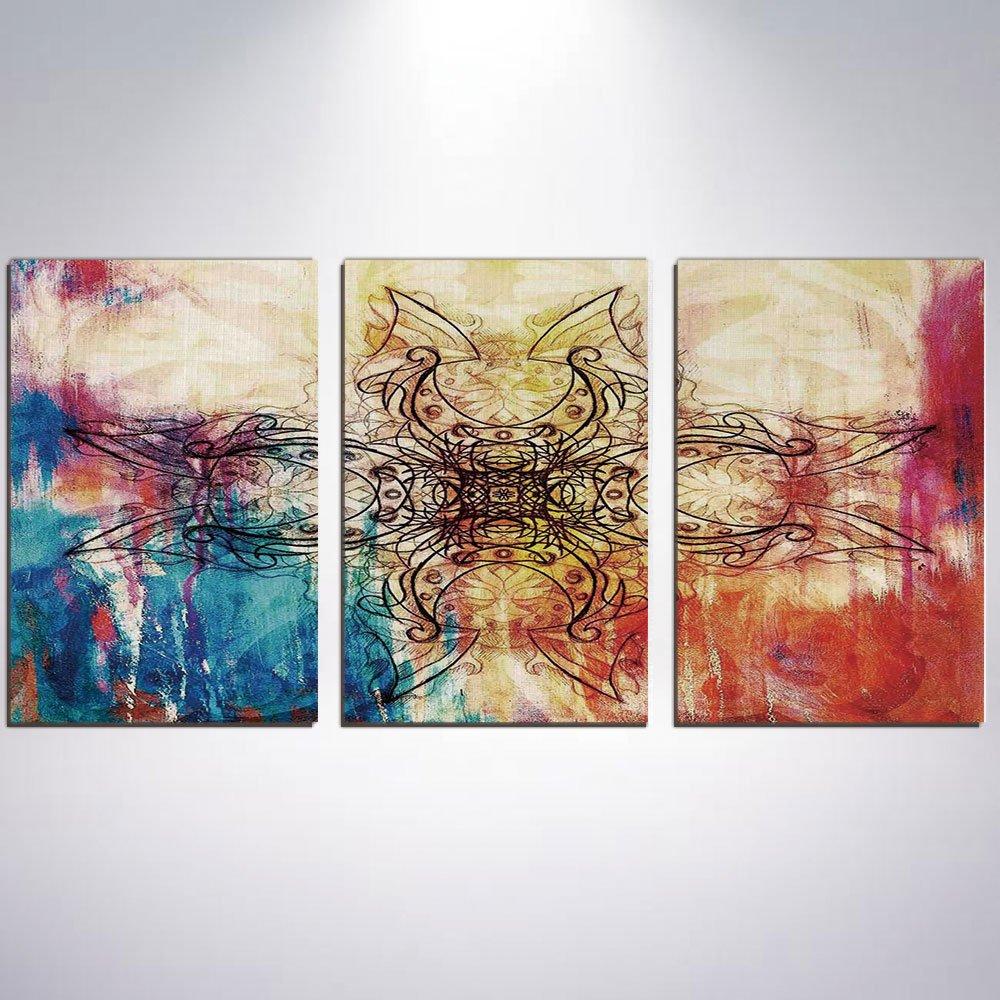 Amazon Com 3 Panel Canvas Prints Wall Art For Home