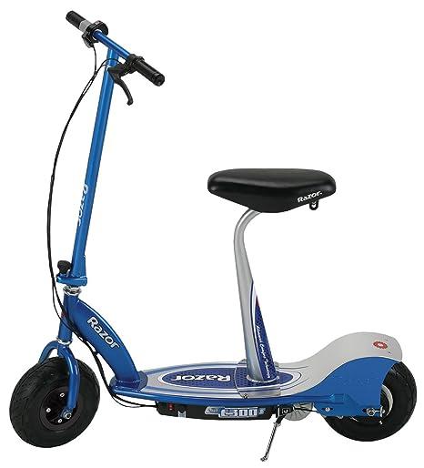 Amazon.com: Razor E300S Seated Electric Scooter - Blue ...