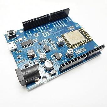 OTA WeMos D1 CH340 WiFi Development Board ESP8266 ESP-12E For Arduino UNO R3