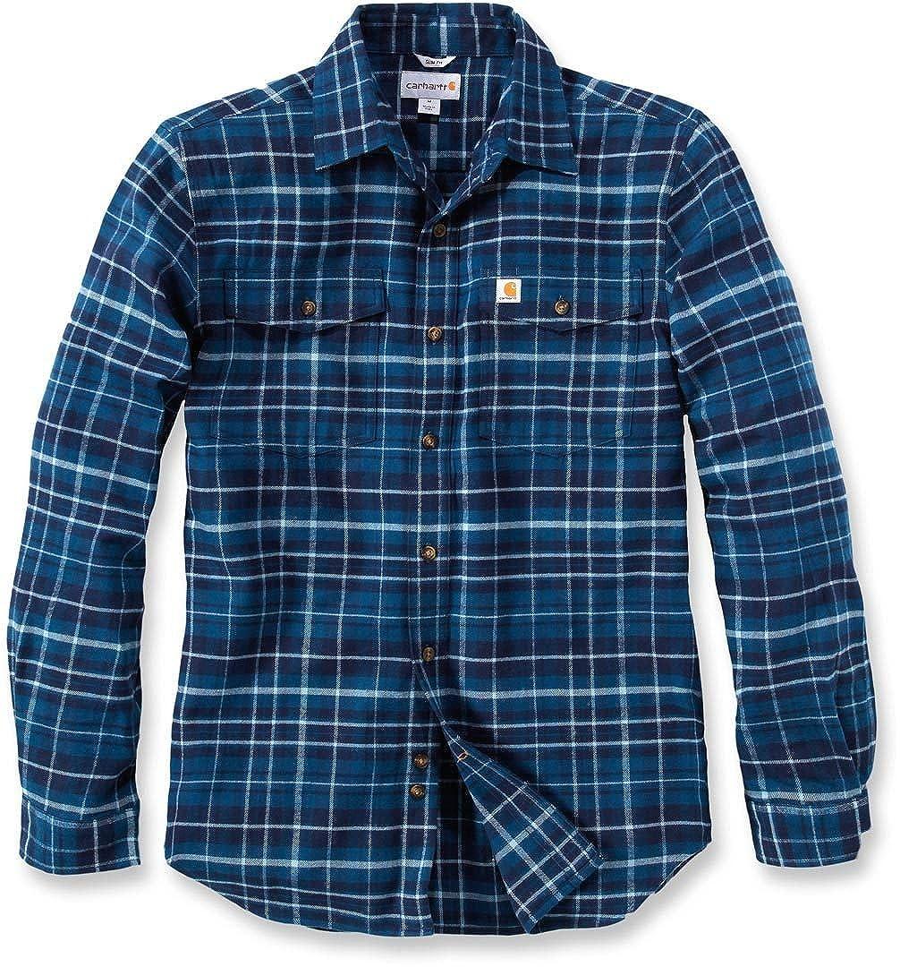 Carhartt, camicia di flanella Trumbull, aderente