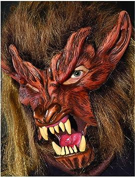 Máscara de terror Lobo: Amazon.es: Juguetes y juegos