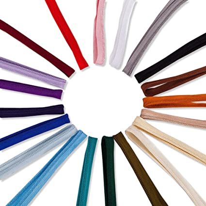 High Strength 36 Colors Durable /& Versatile Neotrims 6mm Silky Barley Twist Cord /& 16mm Flanged Insertion Piping Upholstery Crafts Trimming