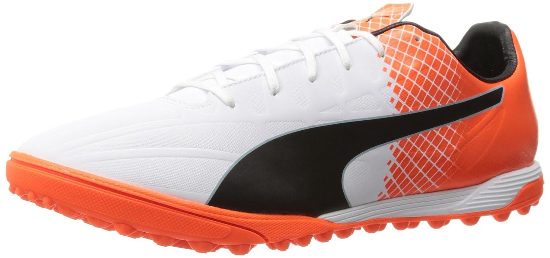 PUMA メンズ B01C6FWTH8Puma White-Puma Black-Shocking Orange 7 D(M) US