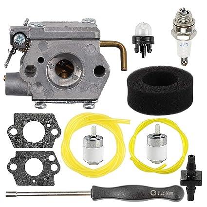 Amazon.com: Mckin BL410 BL100 - Kit de ajuste de carburador ...