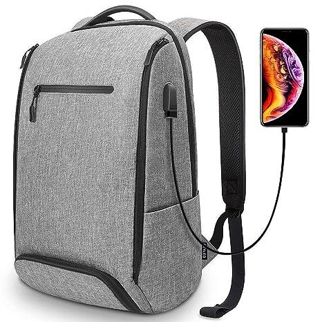 1bb66e6962 Zaino da viaggio, Zaino per computer con porta USB e borsa antifurto, Zaino  per