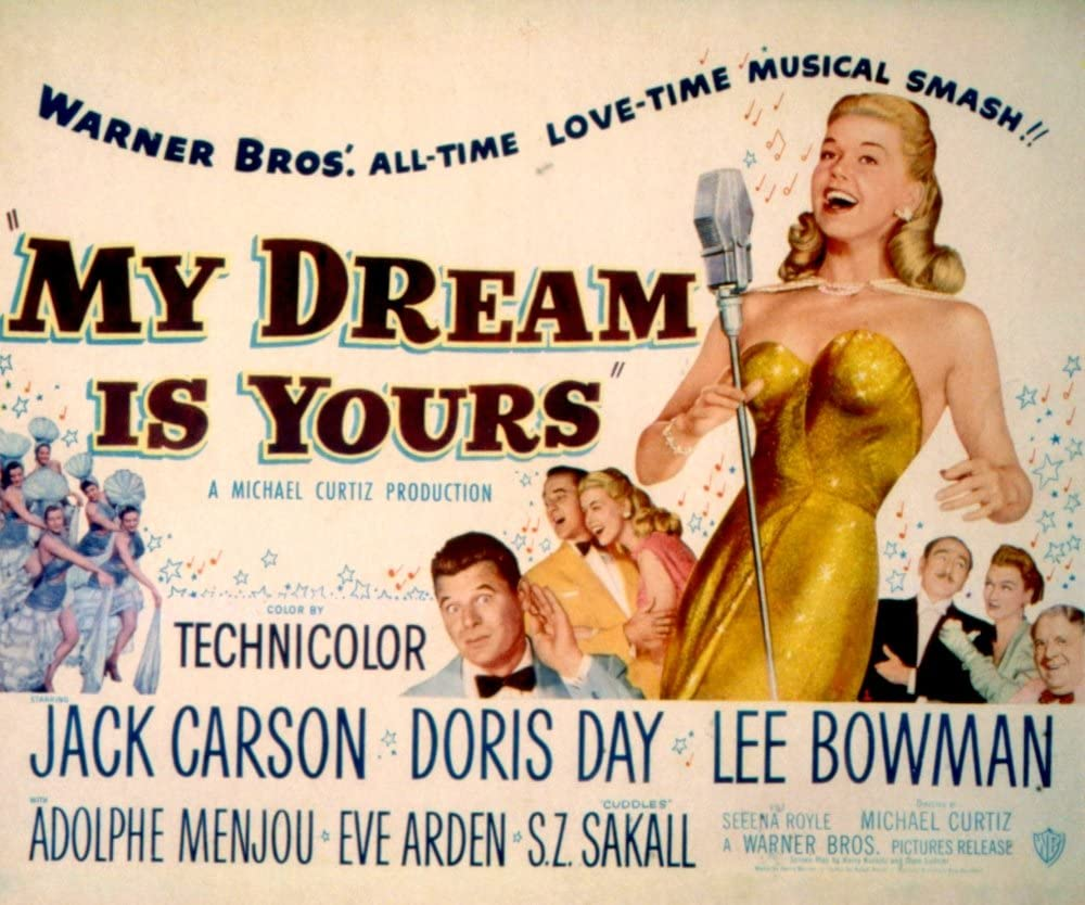 Amazon.com: Posterazzi My Dream is Yours Doris Day Jack Carson Lee ...