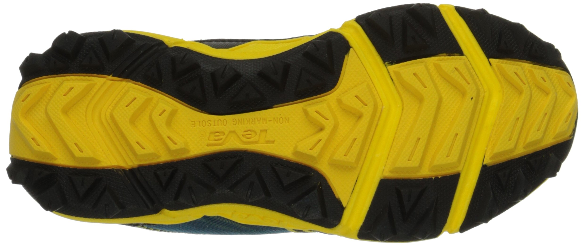 Teva Escapade Lo Athletic Trail Shoe (Little Kid/Big Kid), Blue/Yellow, 11 M US Little Kid by Teva (Image #3)