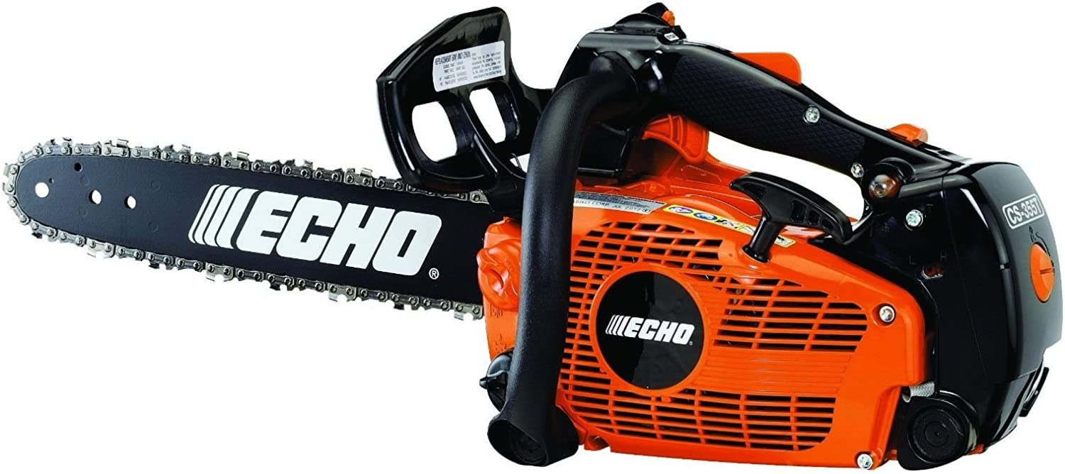 New Echo Top Handle Chain Saw CS-355T 16 inch Bar Fast