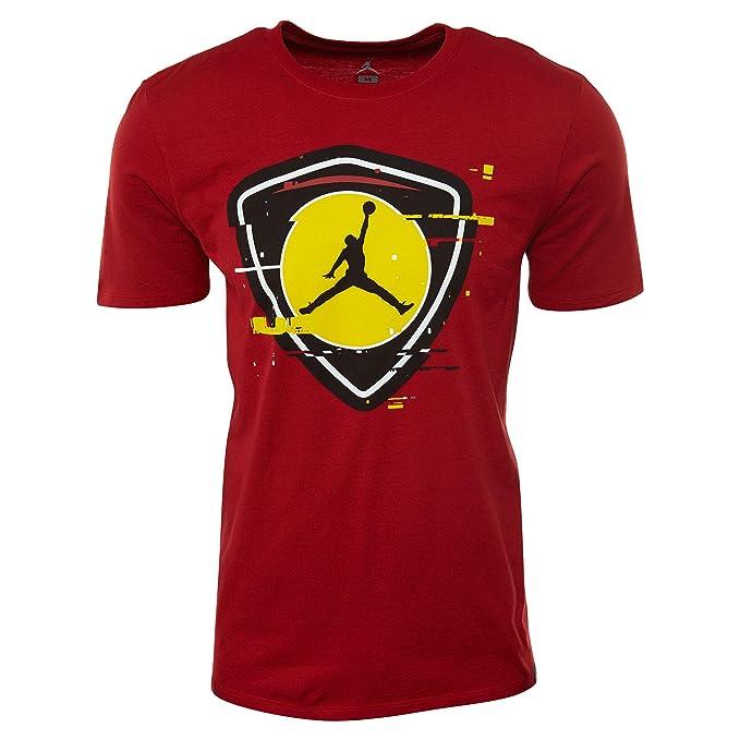 Jordan Camiseta Sportswear Last Shot 1 Rojo/Amarillo Talla: M (Medium)