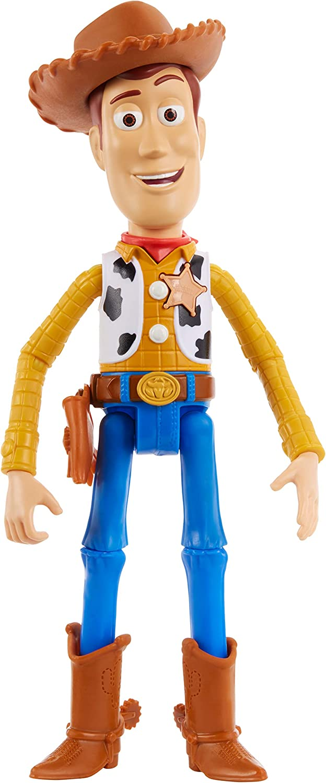 Mattel- Disney Toy Story 4-Figura con Voces y Sonidos Woody, Juguetes niños +3 años GGT31, Multicolor