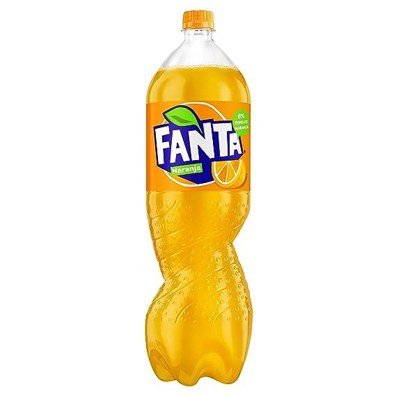 Fanta - Refresco de Naranja, botella de 2 L