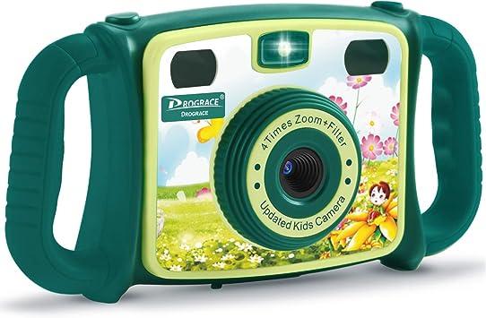 DROGRACE - Cámara Infantil con Zoom de 4 aumentos (Verde): Amazon ...