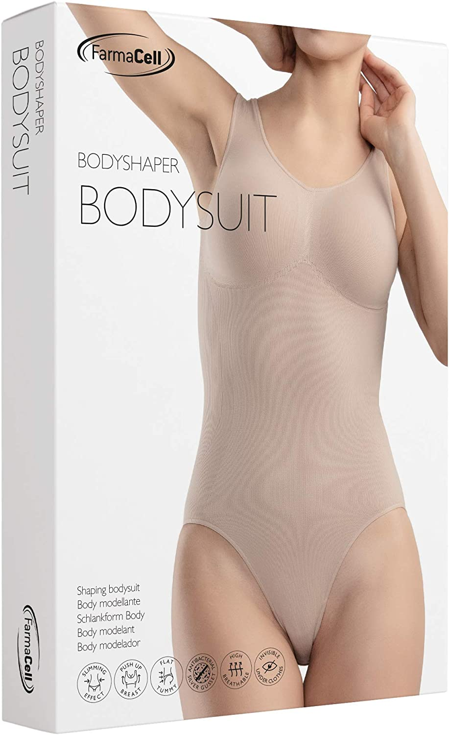 Farmacell Shape 608 Body Modellante e Contenitivo Totale Push-up Seno