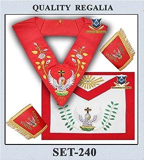 Masonic Collars, 18 Degree Collar Masonic 18th Degree Rose Croix Collar