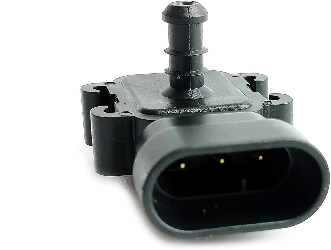 2 Bar LS Series Barometric Pressure Sensor For Sierra Silverado 2500 HD 3500 6.6L Grand Prix 3.8L STS XLR 4.4L Cobalt SS Ion 2.0L