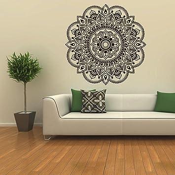 12shage Mandala Blumen Schlafzimmer Wohnzimmer Wandaufkleber ...
