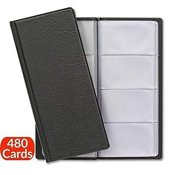 Tarjeta de visita carpeta para tarjetas de 480 | Fundas para tarjetas de retención de tarjetas de visita, ahorra espacio con übersichtliche | tarjeta ...