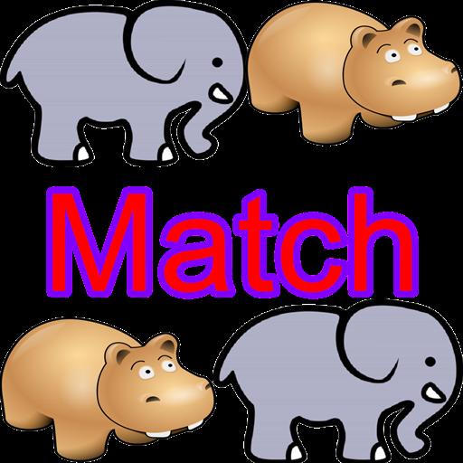 Animal Memory Match -