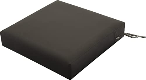 Deal of the week: Classic Accessories Ravenna Water-Resistant 25 x 25 x 5 Inch Square Patio Seat Cushion Slip Cover Foam
