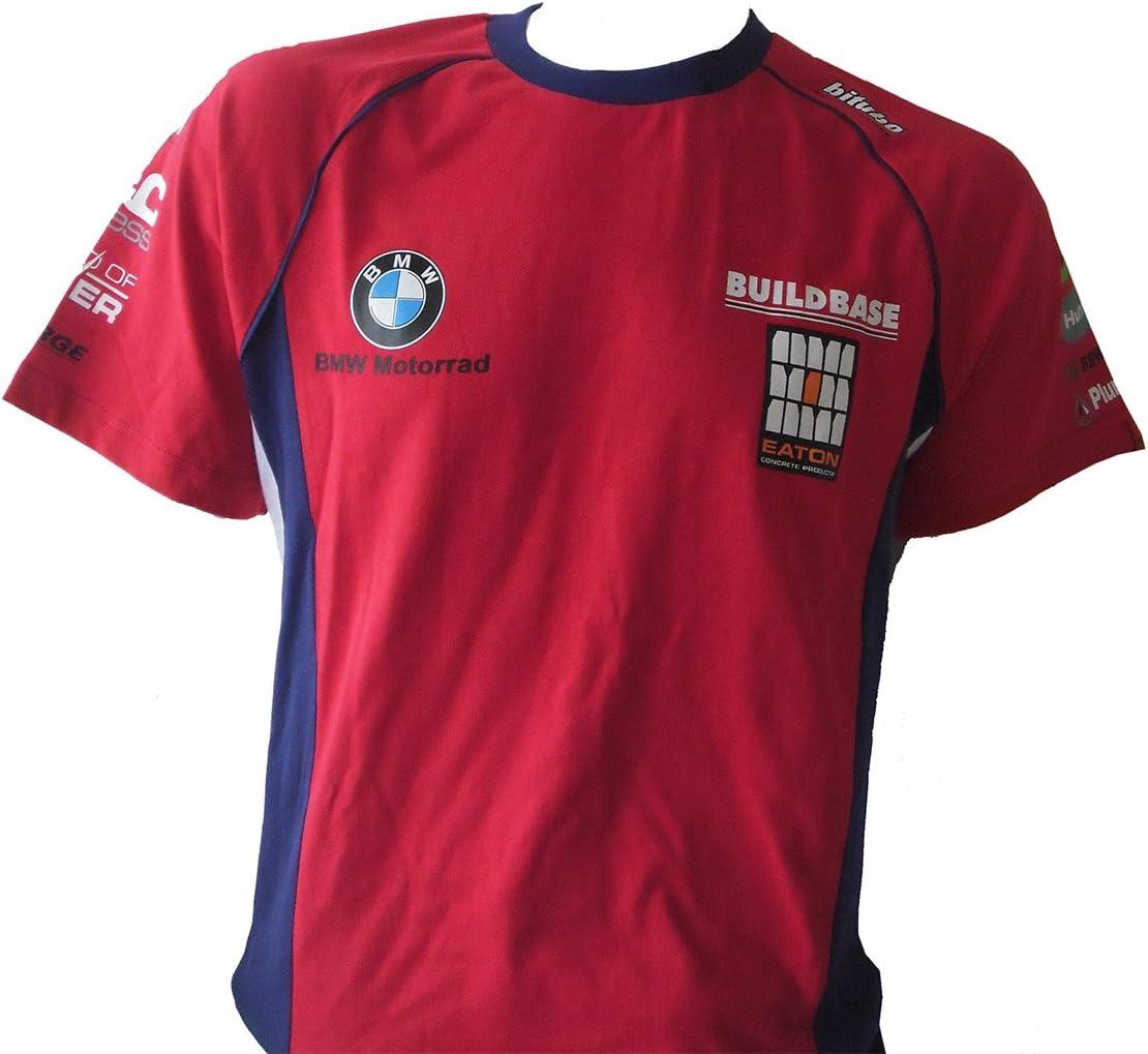 bsb Buildbase BMW Motorrad Team Rojo Camiseta, hombre, rojo, XL: Amazon.es: Deportes y aire libre
