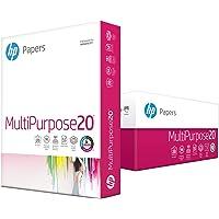 HP Printer Paper, Multipurpose Ultra White Copy Paper, 20lb, 8.5 x 11, Letter, 96 Bright - 3 Pack / 1,500 Sheets (112530C)