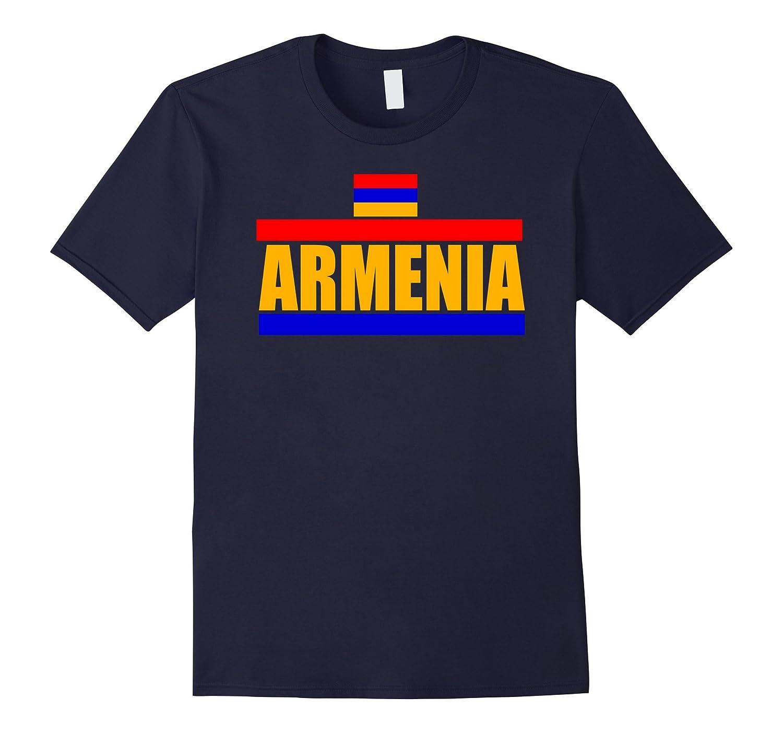 Armenia Flag Gift Pride T-Shirt-CD