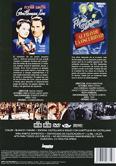 Amazon.com: PACK ERROL FLYNN: Movies & TV