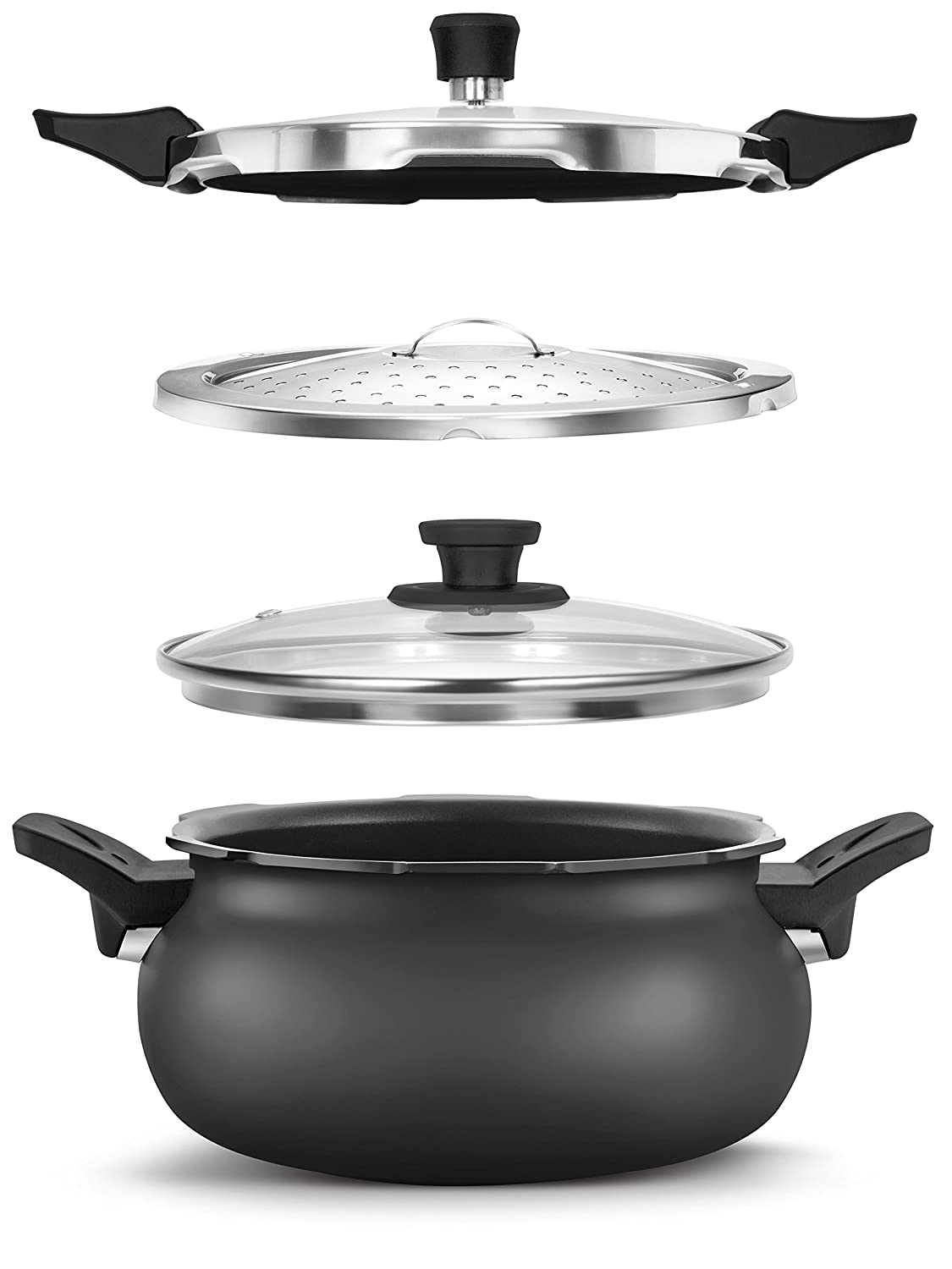Pigeon 3 in 1 Hard Anodized Super Cooker 5 litres