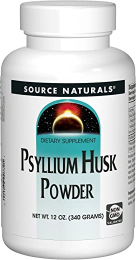Source Naturals Psyllium Husk Powder, 340 Gm