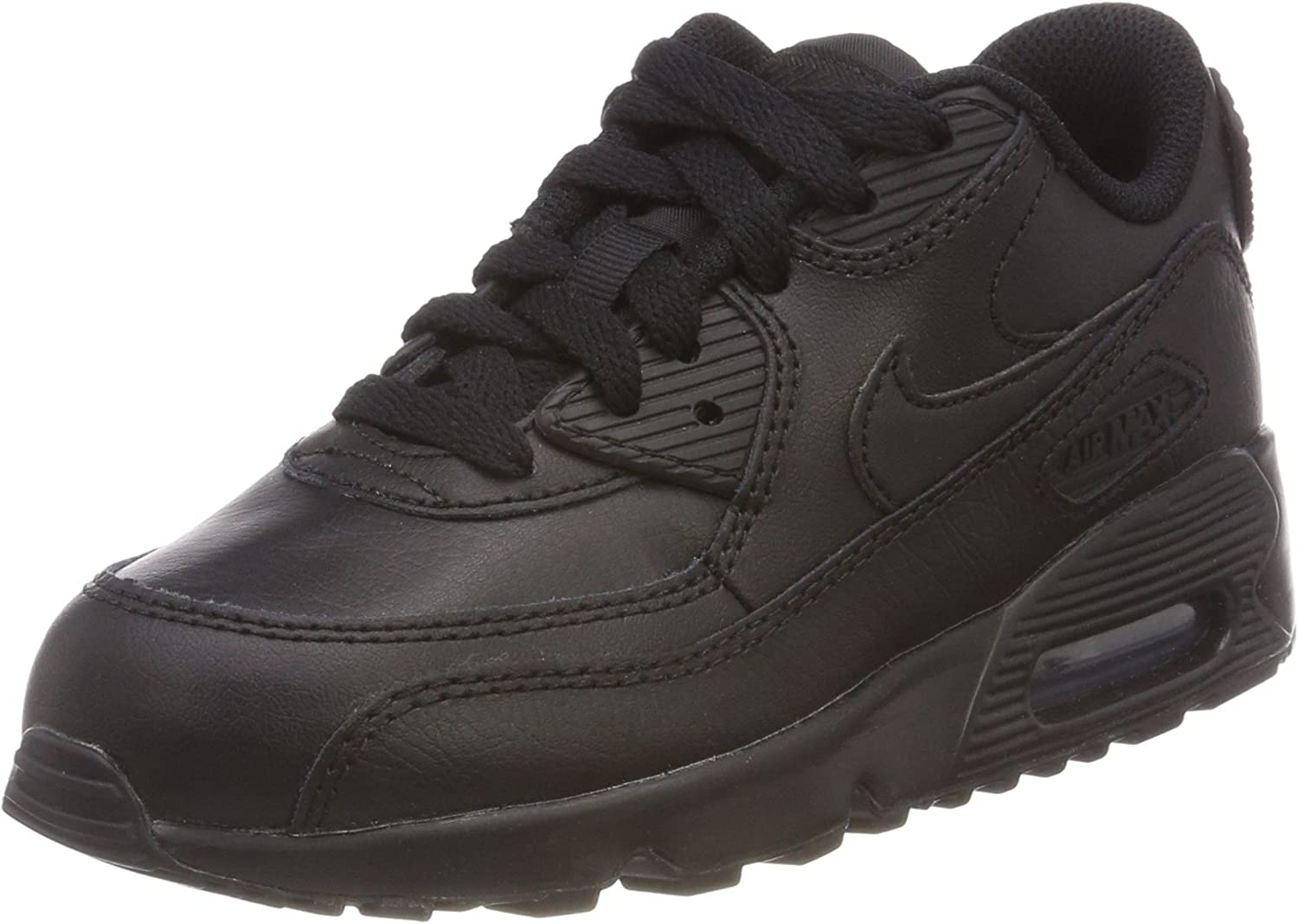 luces tubo tetraedro  Nike Air Max 90 Leather (Ps), Boy's Running Shoes, Black, 13 Child UK (31.5  EU): Amazon.co.uk: Shoes & Bags