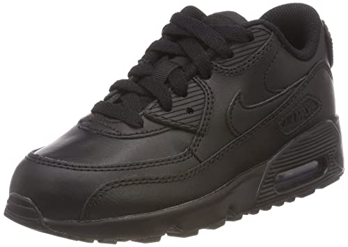 58d68f4da6e7cb Nike AIR MAX 90 LTR PS boys running-shoes 833414 Black Black 2.5 Y US  Buy  Online at Low Prices in India - Amazon.in