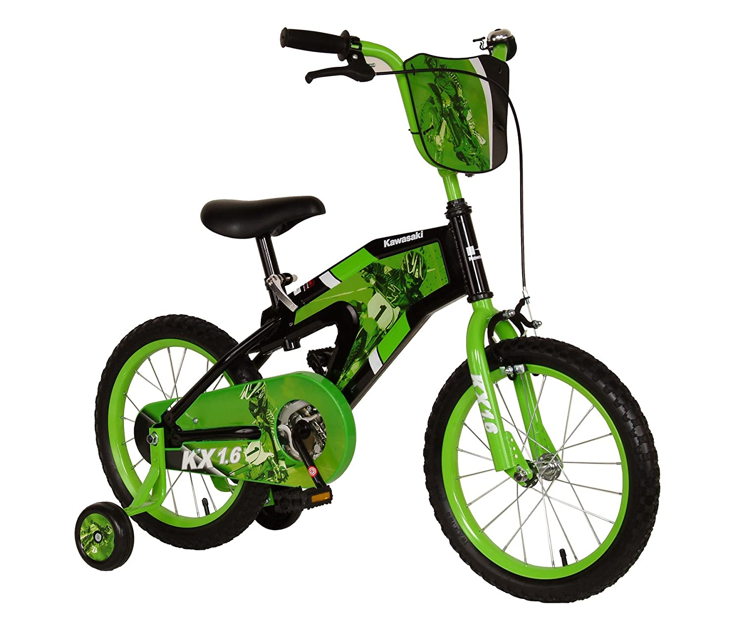 Kawasaki Monocoque Kid S Bike 16 Inch Wheels 11