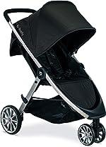 BRITAX B-Lively Lightweight Stroller, Raven | One Hand, Easy Fold +