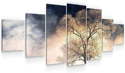 Startonight Huge Canvas Wall Art Mysterious Tree