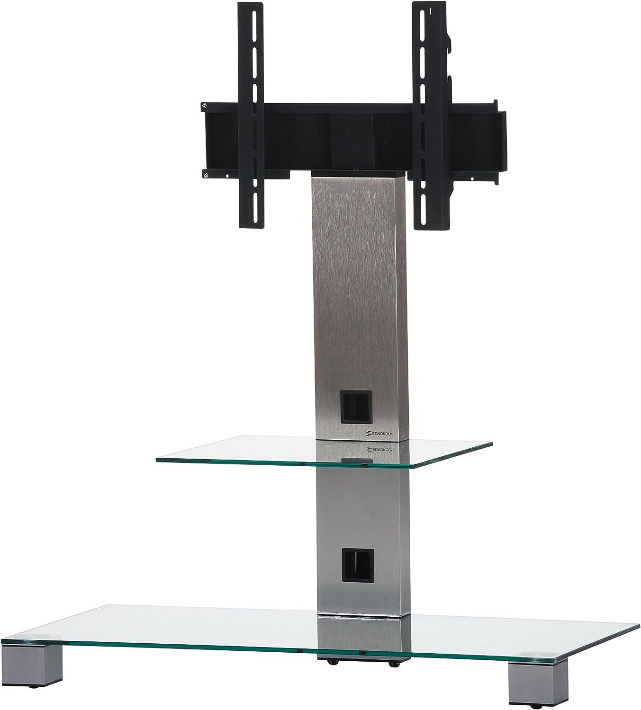 Elbe PL- 2511-C-INX - Mueble soporte para TV vertical, 65 x 89 x ...