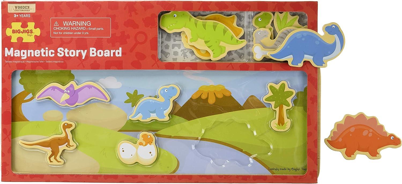 narrazione creativa BIGJIGS Toys in legno magnetico FOTO BOARD azienda