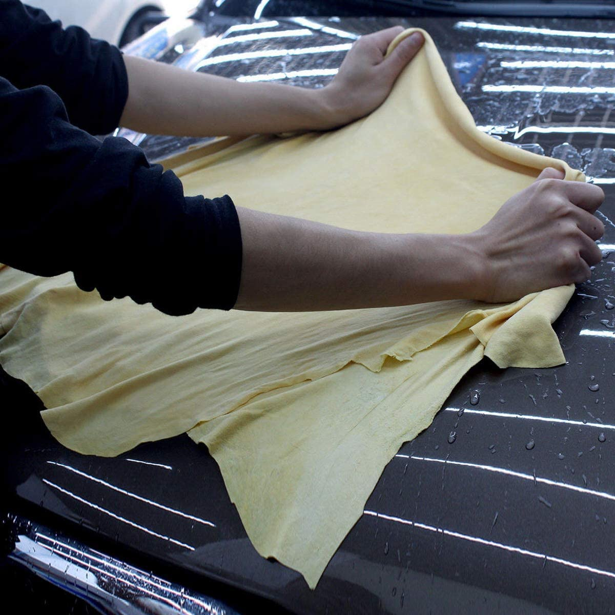 75X105cm Besttradestore Car Nature Chamois Real Leather Washing Cloth Cleaning Towel Wipes Clean Cham Large