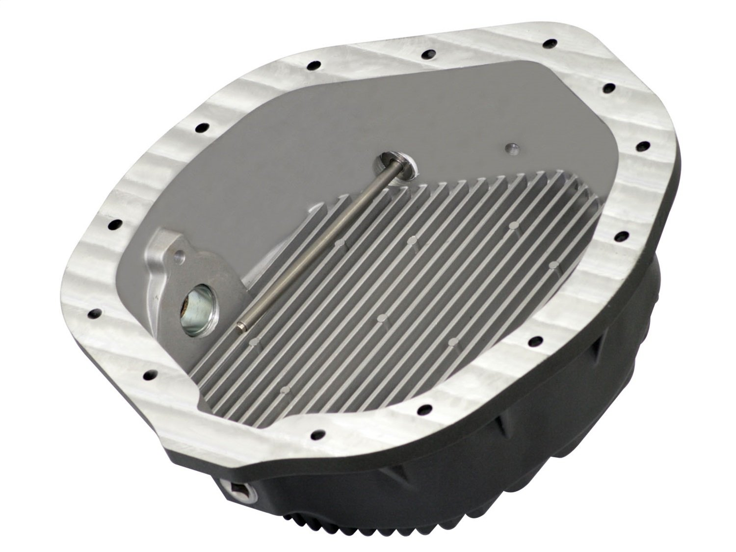 aFe Power 46-70012-WL Pro Series Machined Rear Differential Cover with Gear Oil