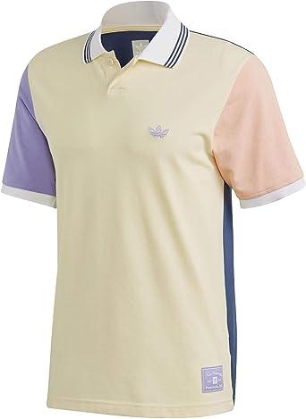 adidas Polo Nora SS Polo Hombre Amarillo XL: Amazon.es: Ropa y ...