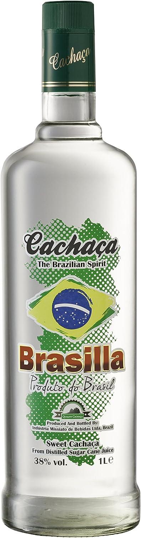 Brasilla Cachaza Brasilla - 1000 ml: Amazon.es: Alimentación y ...