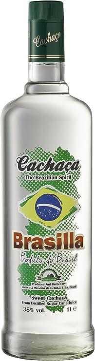 Brasilla Cachaza Brasilla - 1000 ml: Amazon.es: Alimentación ...