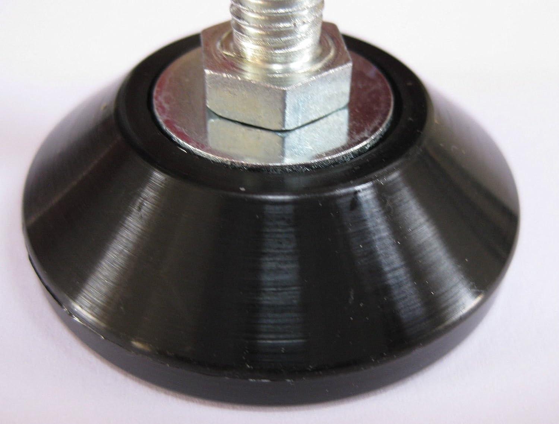 4/x regolabile livellamento piedi//piede M8/x 45/mm Kitchen Sink Prep da banco scrivania